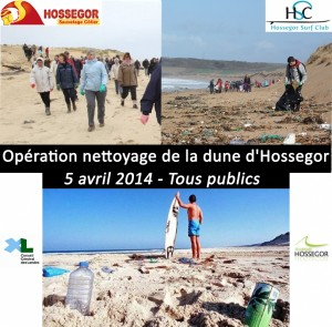nettoyage_plgae hossegor2014