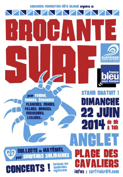 Ev nement brocante surf anglet le 22 mai for Vider son garage