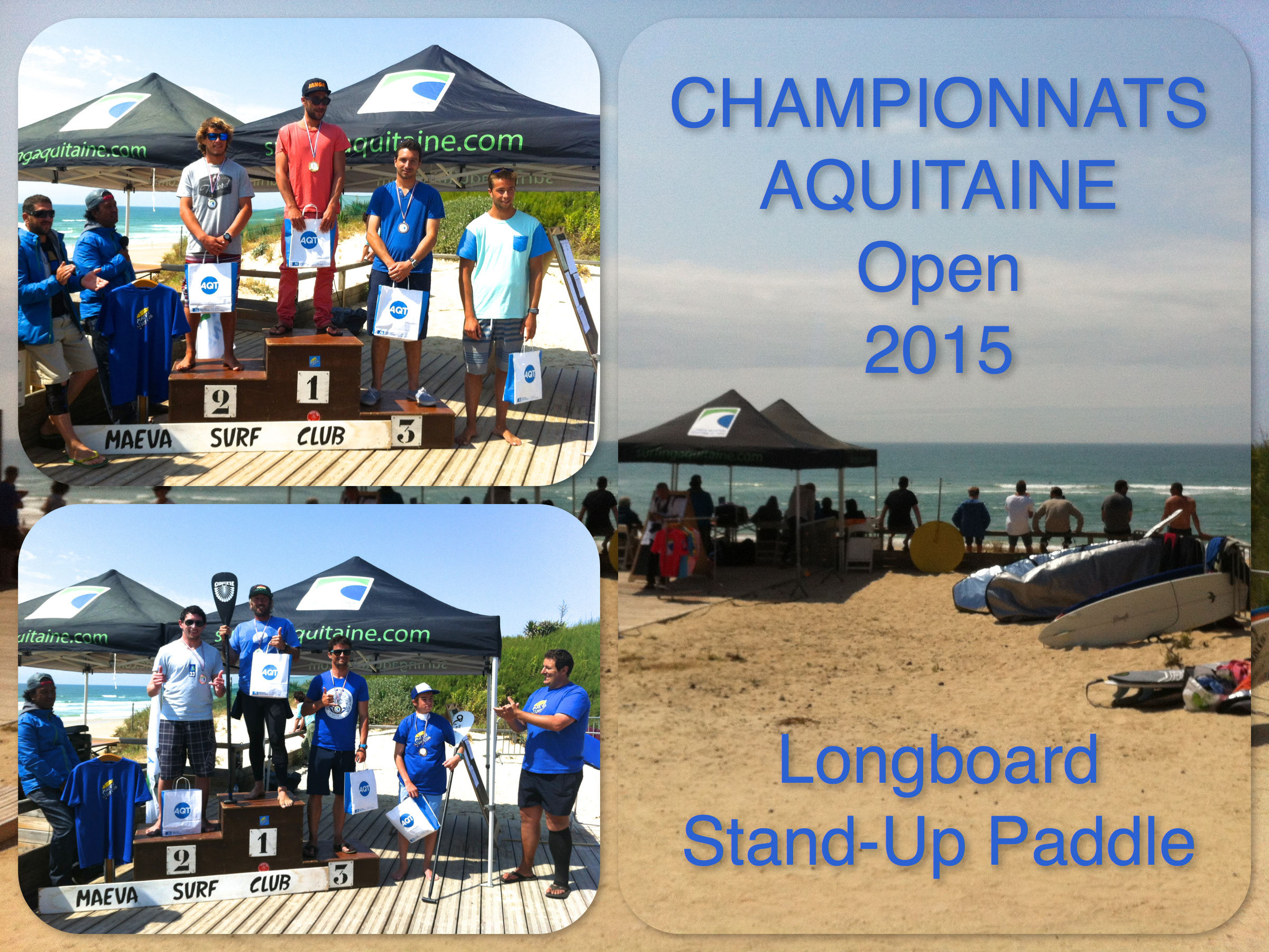 Podium Champ Open long/Sup