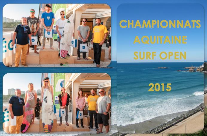Podium champ. aquit. surf open
