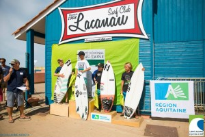 Podium surf Benjamin